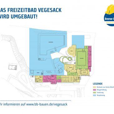 Umbau im Freizeitbad Vegesack